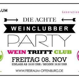 Weinclubber Party, Freiraum Offenburg, Wein, Heidis Catering, Foodtruck
